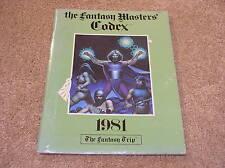 Metagaming The Fantasy Trip The Fantasy Masters' Codex