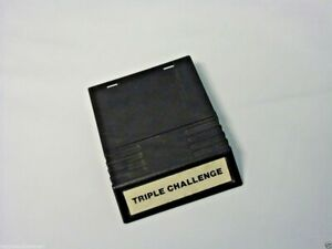 NTSC Intellivision Triple Challenge INTV for the Intellivision Video Game System