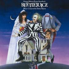 Beetlejuice ORIGINAL MOVIE SOUNDTRACK Danny Elfman TIM BURTON New Vinyl LP