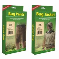 Coghlan's Bug Suit Pants & Jacket Large Black Unisex Lightweight Mosquito Net