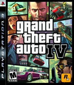 Grand Theft Auto IV - 2008 Mature Shooter - Sony PlayStation 3 PS3
