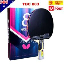 Butterfly 8 Star 803 Long Handle/Shakehand Table Tennis Racket Ping Pong Paddle