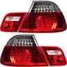 Rückleuchten Set LED 4-Teilig  für BMW E46 Coupe Bj 04/2003 ->> rot weiß chrom