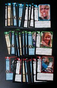 45 Xena Warrior Princess Battle Cry X2 CCG trading cards, no duplicates