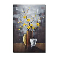 Original Hand Paint Oil Painting Canvas Picture Wall Art Decor Flower Abstract