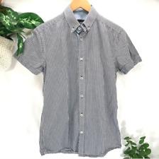 Jack Jones Plaid Button Down Gary Shirt Men's Small