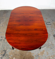 Mid Century Danish Modern Dining Table Brazilian Rosewood Square Compact Denmark