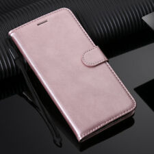 For Samsung S5 S6 S7 S8 S9 Plus J3 J510 Book Card Wallet Leather Flip Cover Case