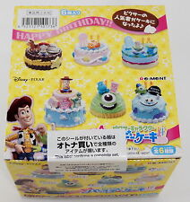 Disney Pixar Character Birthday Cake Complete Box Set - Re-ment  ,  h#6ok