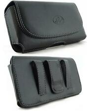 H025 Extra Large Smart Phone Case Pouch Holster Belt Loop & Clip 5.75x
