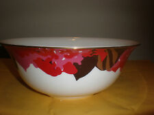 "Lenox Kate Spade Laurel Canyon Serving Bowl 9"" New No Box"
