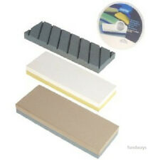NEW Norton Waterstone Starter Kit: 220/1000 4000/8000 Grit Stone SiC Flattening