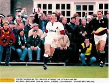 "John Sleightholme Bath & England Rugby Photograph 12"" x 8"" (30cm x 20cm)"
