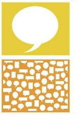 Lifestyle Crafts GooseBumpz, Double Pack, A2 Embossing Folders BUBBLES ~ EF0031