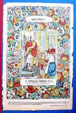 Epinal, Bois rehaussé de couleur, Galerie religieuse: Thomas Hellis, XIXe