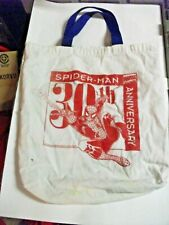 30th anniversary Spider-Man 1993 Capitol city promo tote Marvel