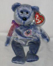 Ty Beanie Baby - Periwinkle the Bear - DOB February 8, 2000 - MWMT