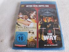 Action Total BD: Twin Daggers / The Way  - Blu-ray - OVP - FSK 16