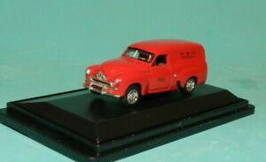 "Road Ragers 1/87 1953 Holden FJ Panel Van ""PMG"" Red MiB"