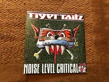 "Tigertailz Noise Level Critical 12"" Vinyl 12KUT134 RARE Life is not a bowl of"