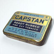 Vintage CAPSTAN Tobacco Tin Very Good Condition