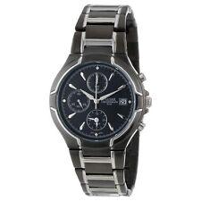 Pulsar Men's PF3547 Chronograph Japanese Quartz Black Stainless Steel Watch