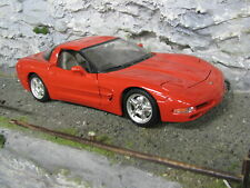 Bburago Chevrolet Corvette C5 Coupé 1997 1:18 Red #2