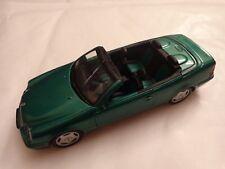 SCHUCO 1/43 CLASSIC MET. GREEN MERCEDES BENZ CLK CABRIO DIECAST CAR