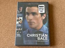 New & Sealed Christian Bale Dvd American Psycho 3:10 to Yuma Velvet Goldmine