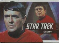 Star Trek 50th Anniversary Bridge Crew Heroes Chase Card P4 Scotty