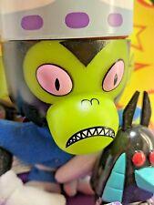 Trendmasters 1999 Cartoon Powerpuff Girls Mojo Jojo Mini Friend Plush Figure PVC