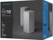 Linksys MX10 Velop AX Whole Home Wi-Fi 6 System - MX10600✅‼️SEALED✅✅🌟‼️