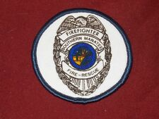Southern Manatee County Florida Fire Department Firefighter Rescue Patch Fl