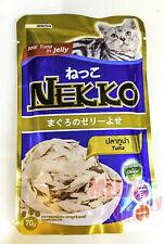 Cat Food 70g Pet Nekko Tuna in Jelly Taurine Plus Omega3 Vitamin E Prebiotic