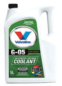 Valvoline Coolant Zerex G-05 Concentrate 5L 934.05 fits Saab 9000 2.0 16 92kw...