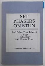 Set Phasers On Stun Steven Casey Book System Design Technology Engineering Tales
