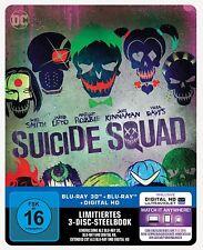 """Suicide Squad 3D"", Blu-ray Steelbook, Neu + OVP"