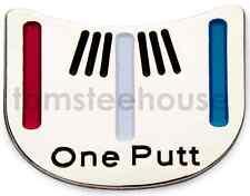 "10 x  "" One Putt "" GOLF BALL MARKER - Putting Alignment Tool"