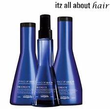 L'OREAL PRO FIBER RE-CREATE Hair Damage Science Shampoo / Conditioner / Serum