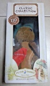 BENJAMIN BUNNY AUST POST PETER RABBIT CLASSIC COLLECTION 2012 SOFT PLUSH TOY