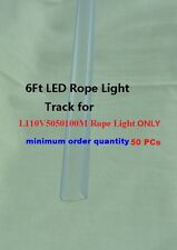 Plastic Track for L110V5050100M LED Rope Light only