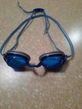 Speedo Vanquisher 2.0 Swimming Goggles 10743 Blue Euc