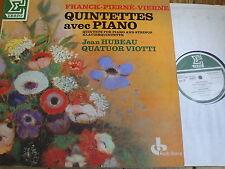 STU 715502 Franck / Pierne / Vierne Piano Quintets / Hubeau / Viotti 4tet 2 LP