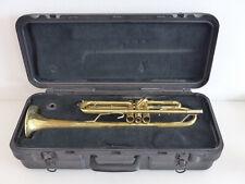 Bach USA TR300 Trompete Musikinstrument im Selmer Koffer G17702 gebraucht #