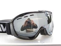 Ravs Brillenträger  Schutzbrille Skibrille double lens gespiegelt  Antibeschlag