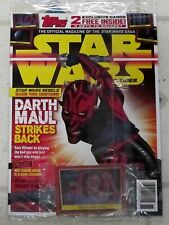 STAR WARS Insider Mag DARTH MAUL STRIKES BACK + 2 Free EXCLUSIVE CARDS Leia NEW
