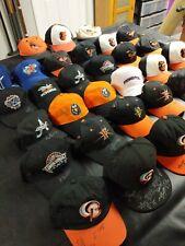 Baltimore Orioles Organization Autographed Hats Caps Signed Baysox Keys Tides