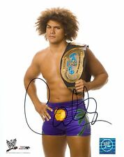 CARLITO WWE SIGNED AUTOGRAPH 8X10 PHOTO #2 W/ PROOF