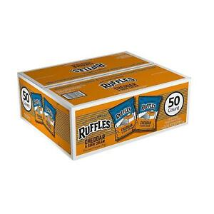 Ruffles Cheddar & Sour Cream Potato Chips (1 oz., 50 ct.)