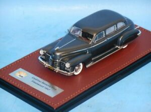 CADILLAC SERIES 75 FLEETWOOD 75 LIMOUSINE 1947 GREY GLM 43101201 1/43 RESINE